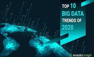 2020年十大大数据趋势