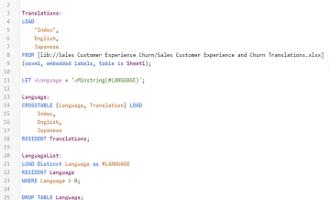 如何制作多语言的Qlik Sense应用程序?