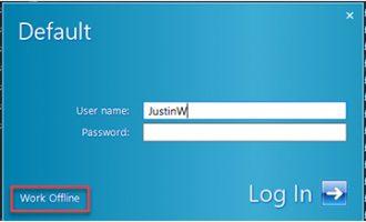 如何使用Windows注册表将SOLIDWORKS PDM切换到离线模式?