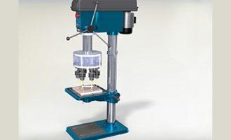 【SolidWorks免费模型下载】:多轴钻  免费模型下载